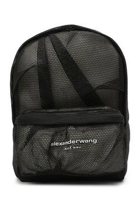 Женский рюкзак ALEXANDER WANG черного цвета, арт. 20221B11T   Фото 1
