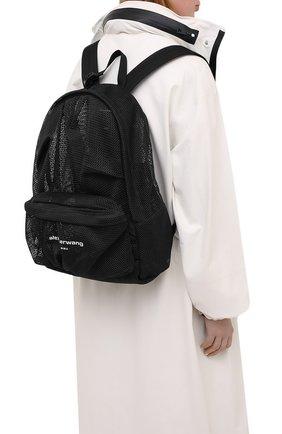Женский рюкзак ALEXANDER WANG черного цвета, арт. 20221B11T   Фото 2