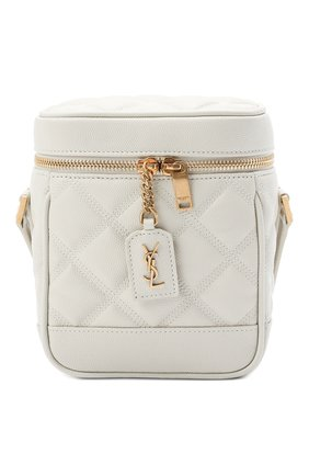 Женская сумка becky mini SAINT LAURENT белого цвета, арт. 649779/DME27   Фото 1