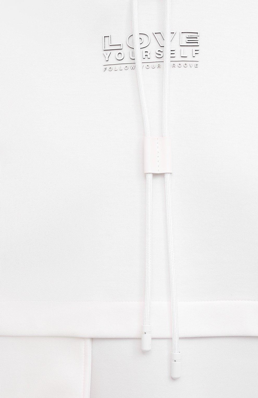 Мужской хлопковое худи DOLCE & GABBANA белого цвета, арт. G9UF5Z/HU7H9 | Фото 5