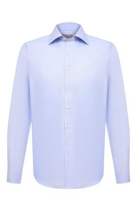 Мужская хлопковая сорочка CANALI светло-голубого цвета, арт. N705/GR01592 | Фото 1