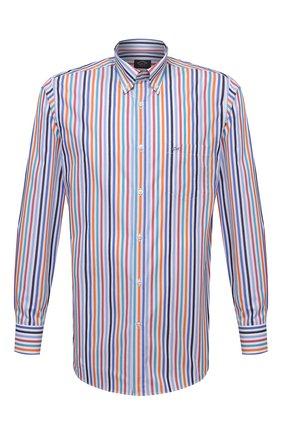 Мужская хлопковая рубашка PAUL&SHARK разноцветного цвета, арт. 21413256/C00 | Фото 1