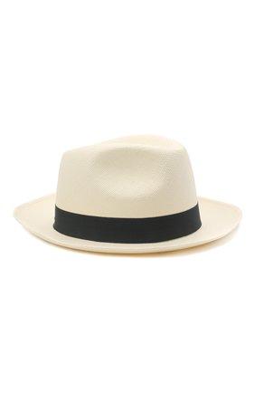 Мужская шляпа BRIONI серого цвета, арт. 04880L/01Z02 | Фото 1