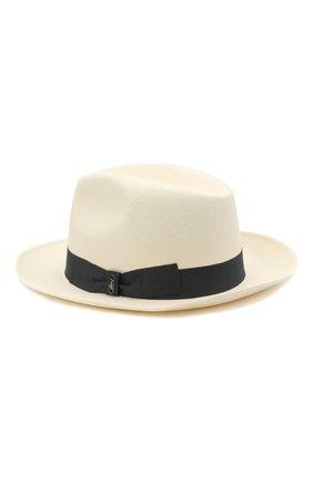 Мужская шляпа BRIONI серого цвета, арт. 04880L/01Z02 | Фото 2