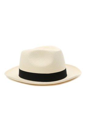 Мужская шляпа BRIONI черно-белого цвета, арт. 04880L/01Z02 | Фото 1