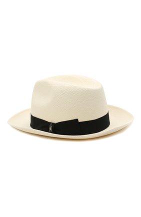 Мужская шляпа BRIONI черно-белого цвета, арт. 04880L/01Z02 | Фото 2