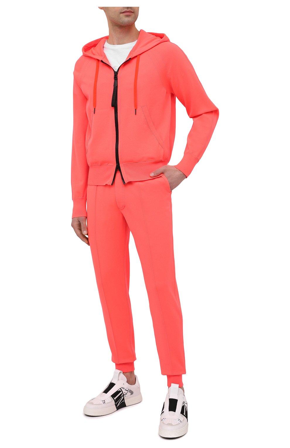 Мужские джоггеры TOM FORD оранжевого цвета, арт. BWY22/TFKTR0 | Фото 2