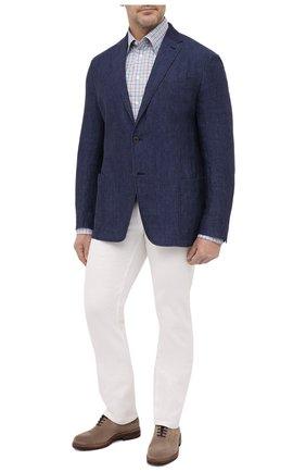 Мужская хлопковая рубашка ETON разноцветного цвета, арт. 1000 02229 | Фото 2