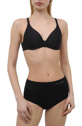 Женские трусы-шорты CHANTELLE черного цвета, арт. C12B80 | Фото 2