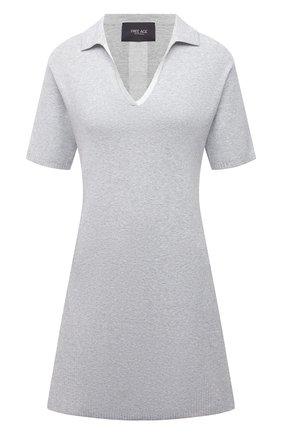 Женское платье из вискозы FREEAGE серого цвета, арт. W22.DR003.7080.901 | Фото 1