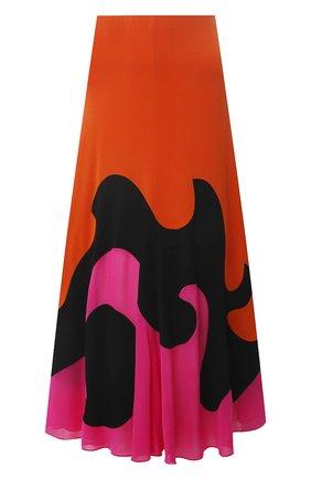 Женская юбка из вискозы TOM FORD разноцветного цвета, арт. GCJ294-FAX668 | Фото 1