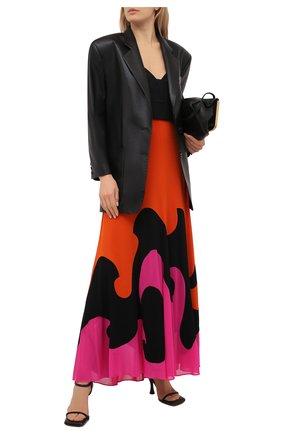 Женская юбка из вискозы TOM FORD разноцветного цвета, арт. GCJ294-FAX668 | Фото 2