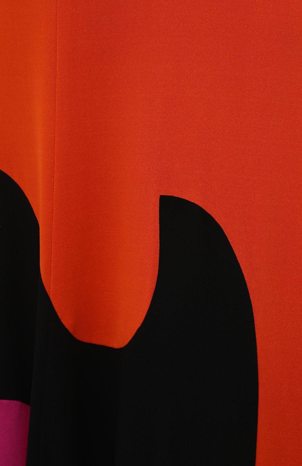 Женская юбка из вискозы TOM FORD разноцветного цвета, арт. GCJ294-FAX668 | Фото 5