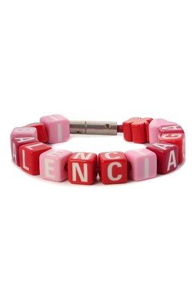 Женский браслет toy BALENCIAGA красного цвета, арт. 649427/TZX4S | Фото 1
