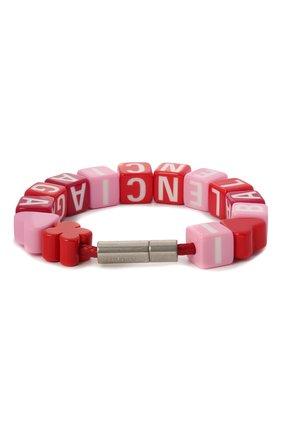 Женский браслет toy BALENCIAGA красного цвета, арт. 649427/TZX4S | Фото 2