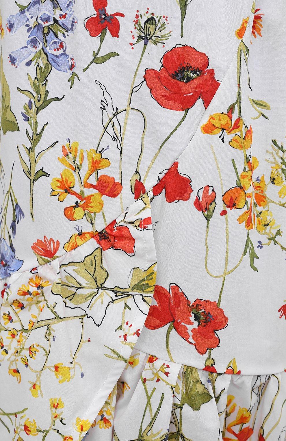 Женская хлопковая юбка SARA ROKA разноцветного цвета, арт. R0SLYN/31-S21   Фото 5 (Женское Кросс-КТ: Юбка-одежда; Материал внешний: Хлопок; Длина Ж (юбки, платья, шорты): Миди; Стили: Бохо)