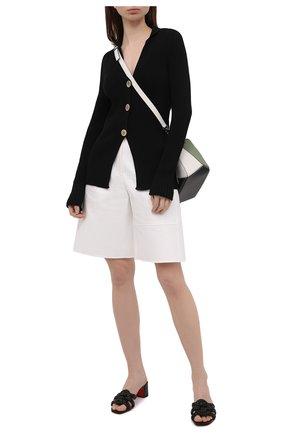Женские кожаные мюли marmela 55 CHRISTIAN LOUBOUTIN черного цвета, арт. 1210631/MARMELA 55   Фото 2