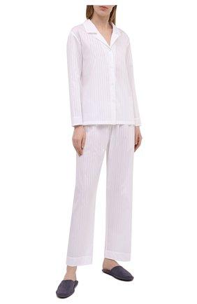 Женская хлопковые пижамы CELESTINE белого цвета, арт. 40000741/KARIN PAJ | Фото 1