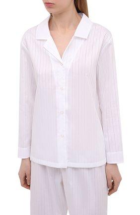 Женская хлопковые пижамы CELESTINE белого цвета, арт. 40000741/KARIN PAJ | Фото 2