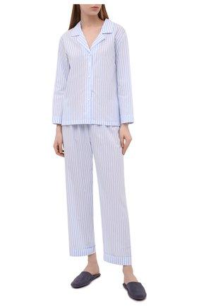 Женская хлопковые пижамы CELESTINE голубого цвета, арт. 40000740/RIALT0 PAJ | Фото 1