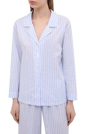 Женская хлопковые пижамы CELESTINE голубого цвета, арт. 40000740/RIALT0 PAJ | Фото 2