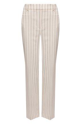 Женские шерстяные брюки JOSEPH светло-бежевого цвета, арт. JP001108 | Фото 1