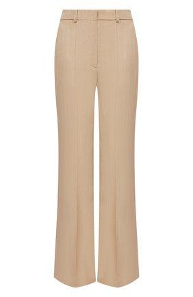 Женские брюки из вискозы JOSEPH бежевого цвета, арт. JP001105 | Фото 1
