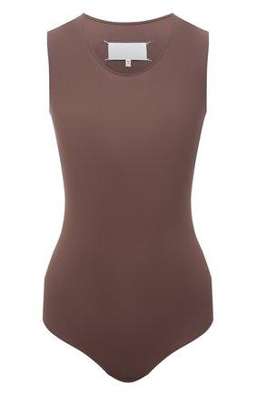 Женское боди MAISON MARGIELA коричневого цвета, арт. S29NA0150/S20518 | Фото 1
