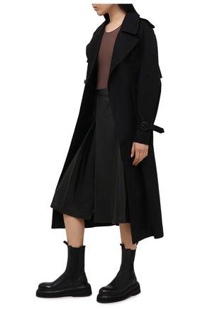 Женское боди MAISON MARGIELA коричневого цвета, арт. S29NA0150/S20518 | Фото 2