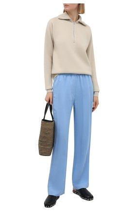 Женские брюки TELA голубого цвета, арт. 01 0165 14 0232 | Фото 2