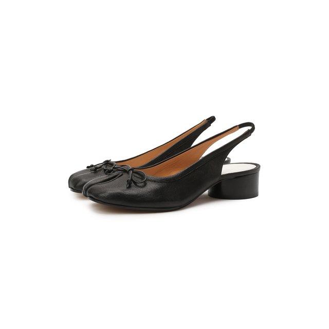 Кожаные туфли Tabi Maison Margiela
