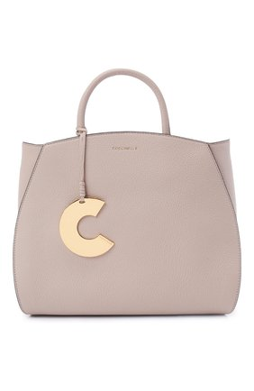 Женская сумка concrete COCCINELLE светло-бежевого цвета, арт. E1 HLA 18 01 01   Фото 1