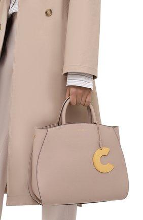 Женская сумка concrete COCCINELLE светло-бежевого цвета, арт. E1 HLA 18 01 01   Фото 2