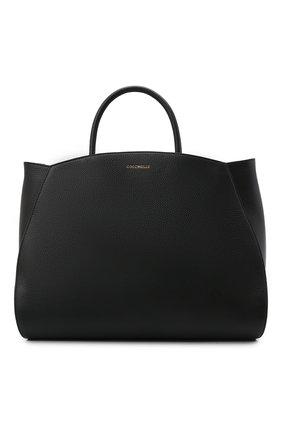 Женская сумка concrete COCCINELLE черного цвета, арт. E1 HLA 18 02 01   Фото 1