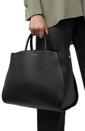 Женская сумка concrete COCCINELLE черного цвета, арт. E1 HLA 18 02 01   Фото 2
