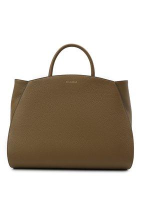 Женская сумка concrete COCCINELLE хаки цвета, арт. E1 HLA 18 02 01   Фото 1