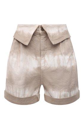 Женские джинсовые шорты STELLA MCCARTNEY бежевого цвета, арт. 603007/S0H31 | Фото 1