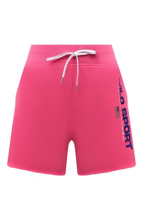 Женские хлопковые шорты POLO RALPH LAUREN розового цвета, арт. 211838094   Фото 1