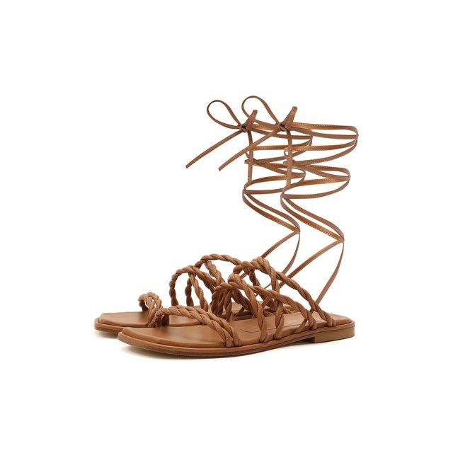 Кожаные сандалии Calypso Stuart Weitzman
