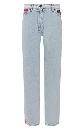 Женские джинсы NATASHA ZINKO голубого цвета, арт. SS21313-87 | Фото 1