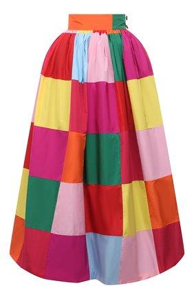 Женская юбка DOLCE & GABBANA разноцветного цвета, арт. F4B3RT/GDZ34 | Фото 1