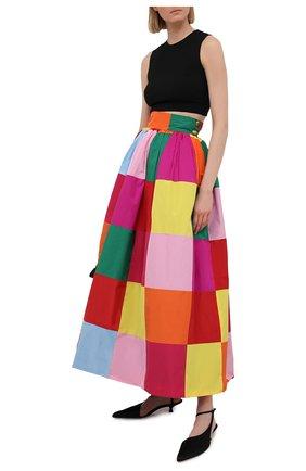 Женская юбка DOLCE & GABBANA разноцветного цвета, арт. F4B3RT/GDZ34 | Фото 2