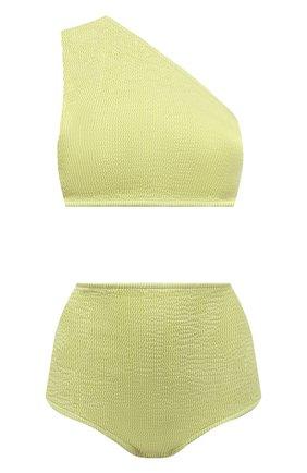 Женский раздельный купальник BOTTEGA VENETA светло-зеленого цвета, арт. 625398/3V945 | Фото 1