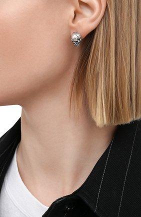 Женские моносерьга GL JEWELRY серебряного цвета, арт. GL200012-S97-01 | Фото 2