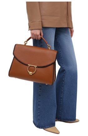 Женская сумка margot SALVATORE FERRAGAMO коричневого цвета, арт. Z-0741258 | Фото 2