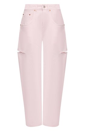 Женские джинсы FORTE DEI MARMI COUTURE розового цвета, арт. 21SF9053-4 | Фото 1