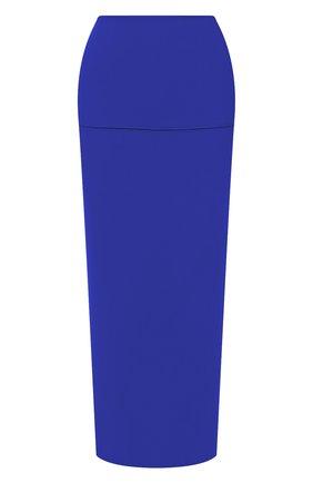 Женская юбка JIL SANDER синего цвета, арт. JSWS754328-WSY45018 | Фото 1