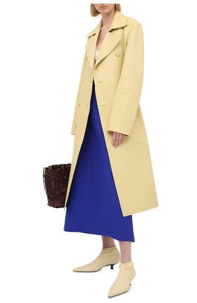 Женская юбка JIL SANDER синего цвета, арт. JSWS754328-WSY45018 | Фото 2