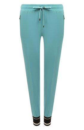 Женские джоггеры из вискозы DOLCE & GABBANA голубого цвета, арт. FTA1DT/G7RNY | Фото 1