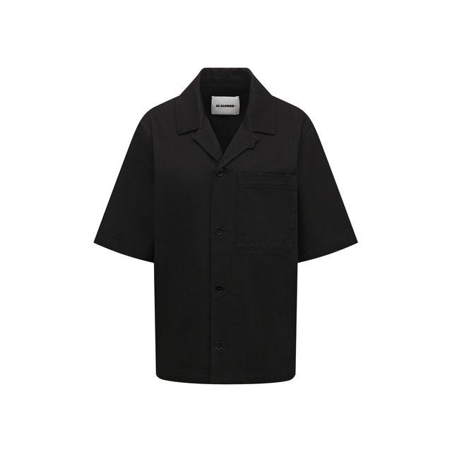 Хлопковая рубашка Jil Sander